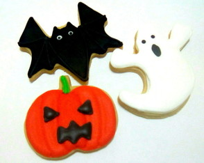 Halloween Biscoito Decorado