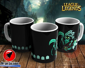 Caneca League of Legends MOD12