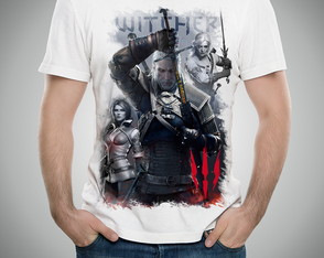 Camiseta Ou Baby Look The Witcher 3