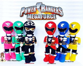Bonecos Power Rangers Megaforce