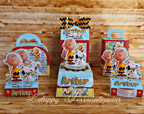 Kit Snoopy - 60 Itens
