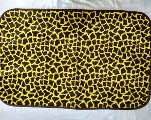 Tapete Animal Print Felpudo