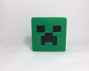Sabonete Minecraft - Creeper