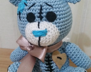 Amigurumi Urso do Amor