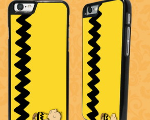 Capa iPhone 6/6S ou 7 - Charlie Brown