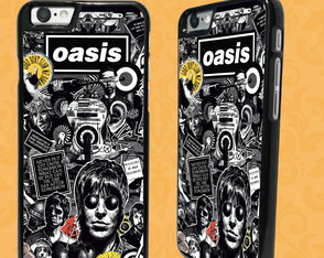 Capa iPhone 6/6S ou 7 - Oasis - Lord Don't Slow Me Down