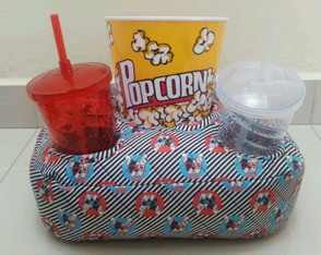 kit Cinema com 2 copos