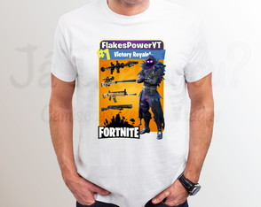 Camiseta Fortnite Corvo Raven