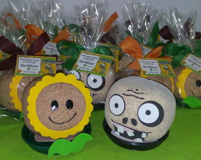 Boneco Plants vs Zombies