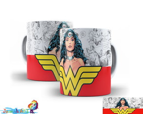 Caneca Wonder Woman #8