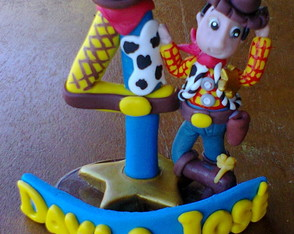 Vela de Biscuit do WOODY