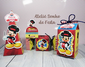 Kit festa Circo do Mickey