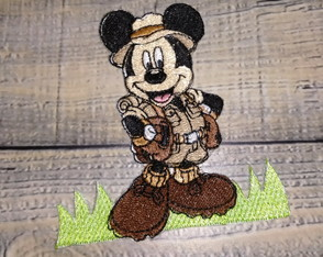 Patch Termocolante Mickey Safari