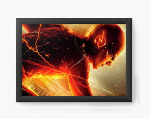 Quadro Decorativo Flash - Serie cod243