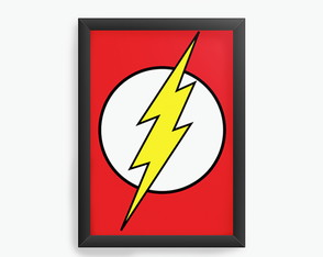 Quadro Decorativo Flash - Simbolo cod92