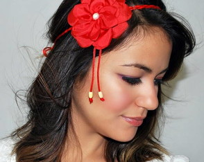 headband-summer-red