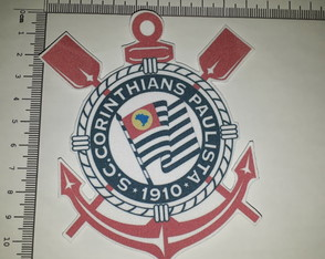 Ref 81001 -Patch Bordado Termo colante - Escudo do Timão