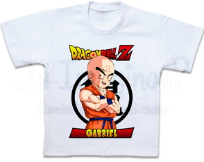 Camiseta Dragon Ball Z Kuririn