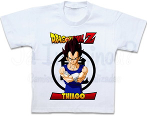 Camiseta Dragon Ball Z Vegeta