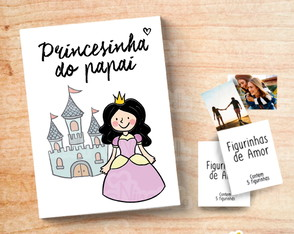Album de Figurinhas - Princesinha do Papai