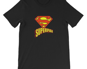 kit Camiseta e Body SuperPai e SuperFilho