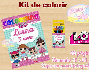 Kit de colorir LOL Surprise