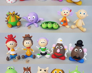 Mini Personagens Toy Story 3