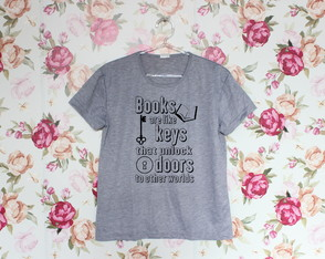 Camiseta Books are Keys