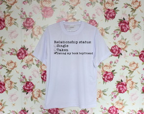 Camiseta Book boyfriend