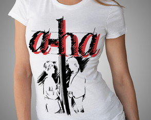 Camiseta Ou Baby-look Banda A-ha Rock 80 Take On Me