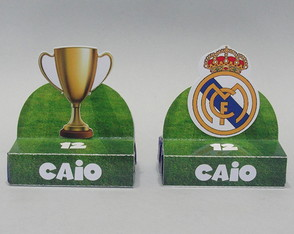 Caixa Bis Duplo Real Madrid