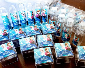 Kit 60 Itens Personalizados Frozen