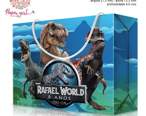 Caixa Surpresa Jurassic World 2