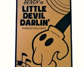Poster Bendy and the Ink Machine Modelo 01 A2