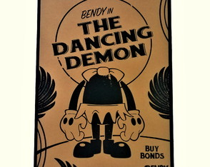 Poster Bendy and the Ink Machine Modelo 04 A2