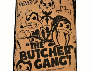 Poster Bendy and the Ink Machine Modelo 05 A2