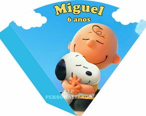 Cone Snoopy e Charlie Brown