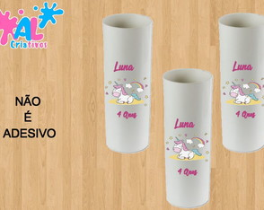 Copos Long Drink Personalizados 350ML - Unicórnio 7
