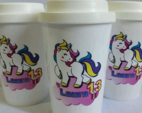 Copo cafe star _unicornio