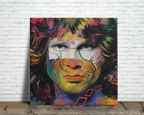 Azulejo Decorativo - Jim Morrison The Doors