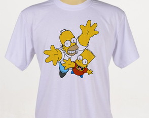 camiseta Os Simpsons