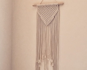 Mini Painel Macrame / Wall Hanging