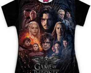 Baby Look Feminina Game of Thrones MD07