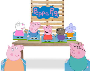 DISPLAY PEPPA PIG