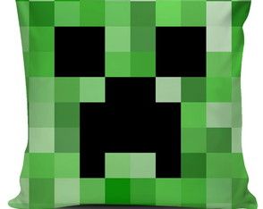 Almofada Minecraft - Creeper E TNT