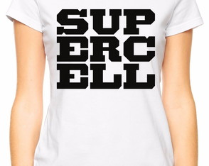 Camiseta Baby Look Supercell Clash