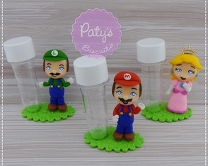 Mini tubetes Super Mario Bros.