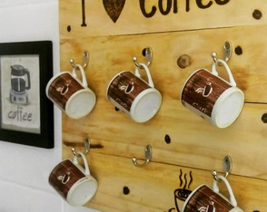 PORTA XÍCARAS I LOVE COFFEE