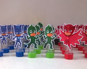 Tubetes decorado PJ Masks