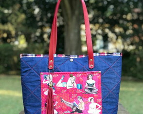 Bolsa sacola pin up